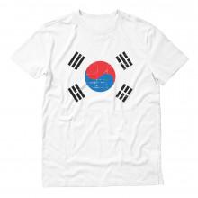 Retro South Korea Flag Vintage