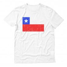 Chile Flag Retro Style