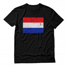Netherlands Flag Retro Style Dutch Flag