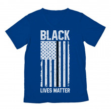 Black Lives Matter U.S Flag