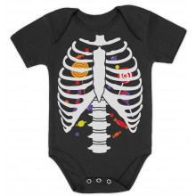 Candy Skeleton Rib-cage X-Ray Halloween Costume