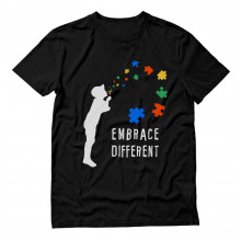 Embrace Different - Autism Awareness