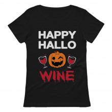 Happy Hallowine Halloween Pumpkin Wine Lovers
