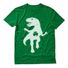 Irish Clover T-Rex Dino St Patrick's Day
