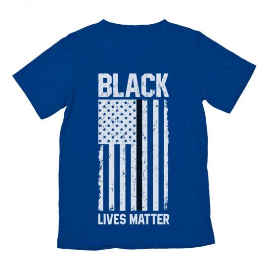 Black Lives Matter U.S Flag