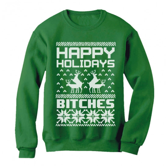 fc47e6827 ... shirts. Back. Happy Holidays Bitches Ugly Xmas Humping Reindeer