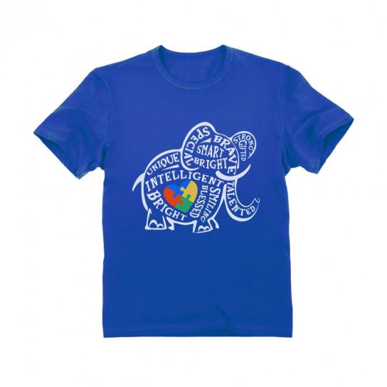 Autism Awareness Elephant - Children