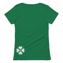 Side Clover Celtic Irish Shamrock