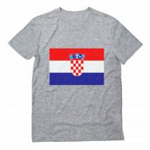 Vintage Croatia Flag