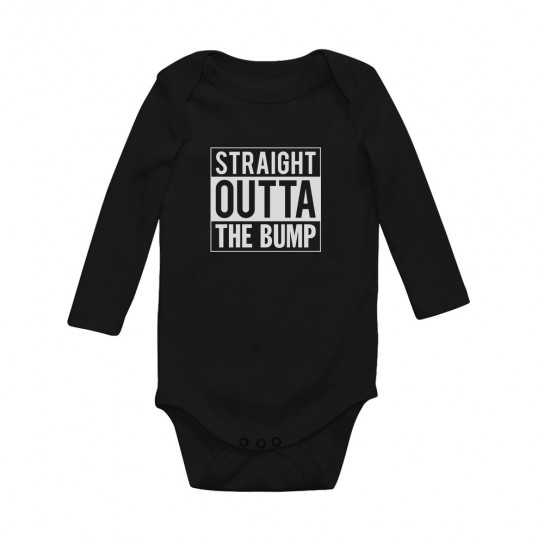 Straight Outta The Bump Gift for Newborn Babies