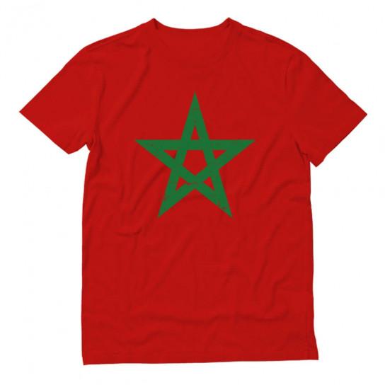 Vintage Morocco Flag