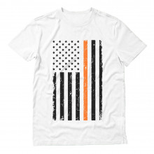 Prevent Gun Violence Orange American Flag