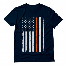 Prevent Gun Violence Orange USA Flag