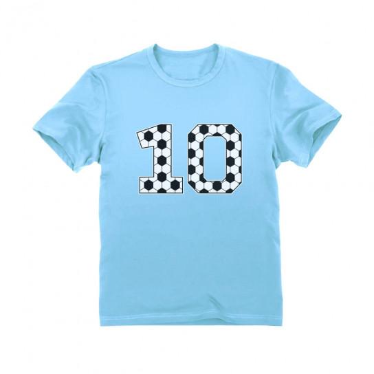 Soccer 10th Birthday Gift Ten Year old