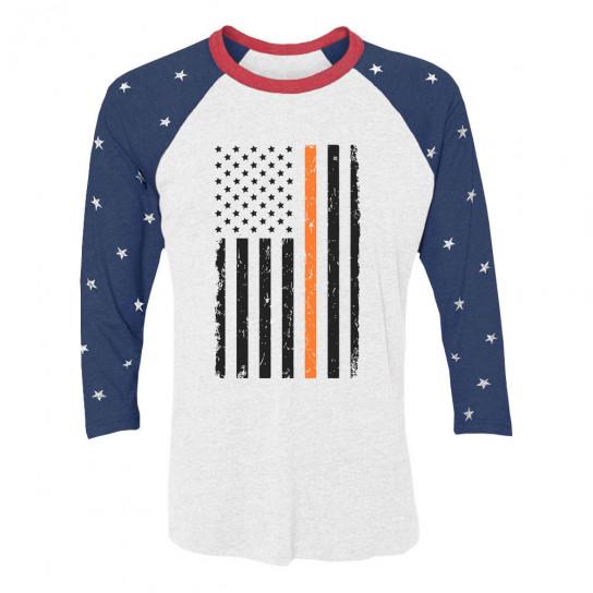Prevent Gun Violence Orange American Flag