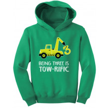 Being 3 Is Tow-Rific Birthday Gift