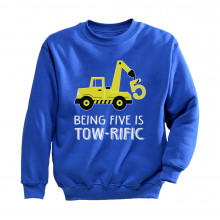 Being 5 Is Tow-Rific Birthday Gift