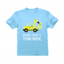 Being 4 Is Tow-Rific Birthday Gift