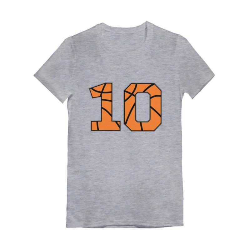 Basketball 10th Birthday Gift Ten Year Old