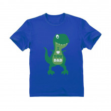 I Love You Dad T-Rex Hug - Children