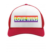 Love Wins Rainbow Flag Gay & Lesbian