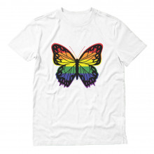 Pride Parade Gay & Lesbian Rainbow Butterfly