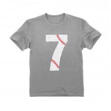 Baseball 7th Birthday Gift Seven Year old