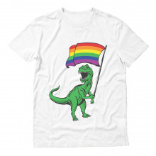 T-Rex Pride Parade Gay & Lesbian Rainbow