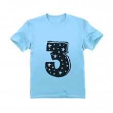 3 Kids Birthday - Superstar 3 Years Old Cute Gift Idea