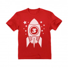 3rd Birthday Space Rocket