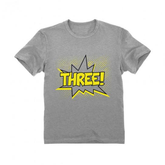 THREE Third Birthday