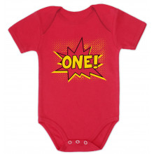 Superhero First Birthday - One Year Bday Gift Idea