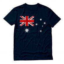 Australian Flag Vintage Style