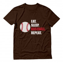 Eat Sleep Baseball Repeat