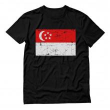 Vintage Singapore Flag