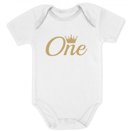 One Year Old Crown Birthday Gift