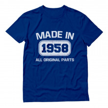 Made In 1958 All Original Parts Birthday
