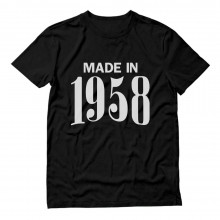 Made In 1958 Birthday