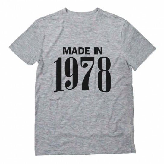 Made In 1978 Birthday