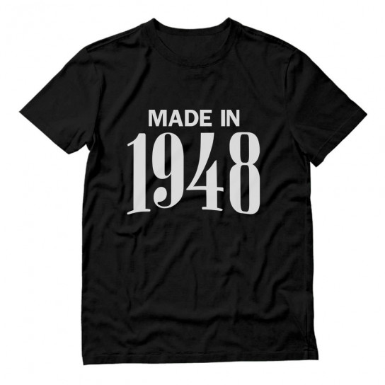 Made In 1948 Birthday Gift
