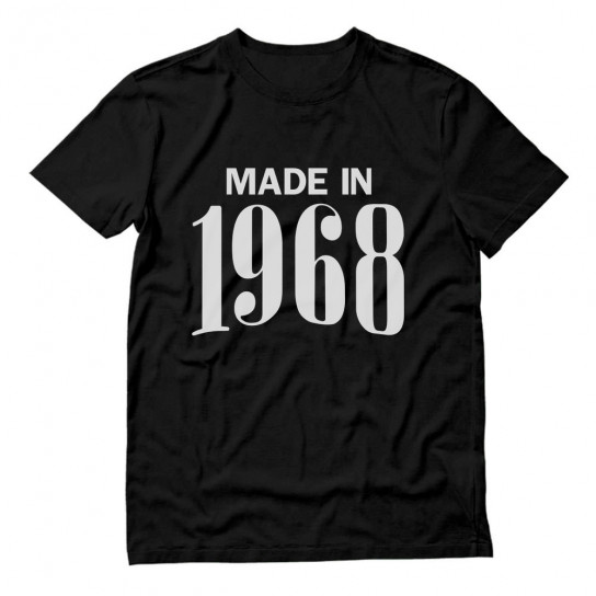 Made In 1968 Birthday