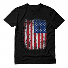 USA Distressed Flag 4th July | American Patriot