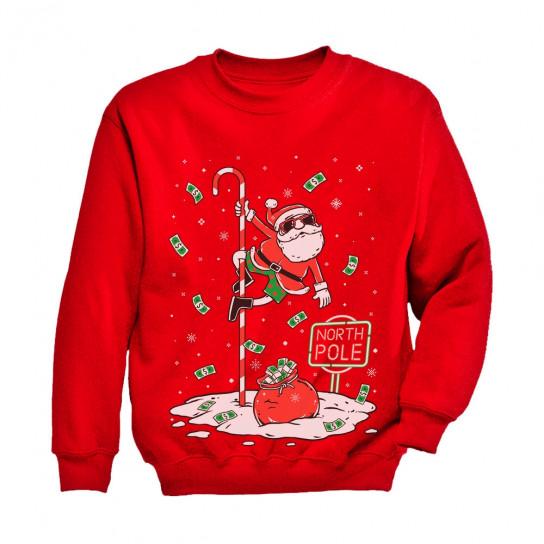 Santa North Pole Funny Ugly Christmas