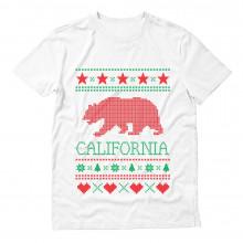 California Republic Bear Ugly Christmas Sweater