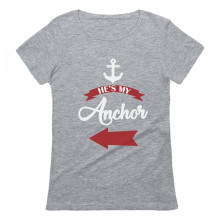 He's My Anchor - Cute Valentine's Day Couple Set