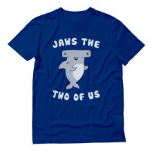 Jaws the Two of Us Cute Shark Valentine's Day Couple BFF Set