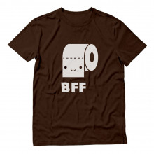Toilet Paper & Poop Best Friends BFF Funny Cute Matching Set