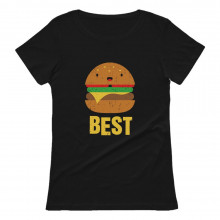 Burger & Fries Junk-Food Best Friends BFF Funny Matching Set