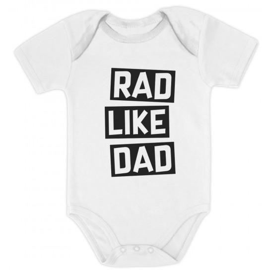 7c53bb32a Rad Like Dad - Cute Funny Gift Set - Dad - Greenturtle