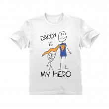 Father's Day Gift Daddy Is My Hero